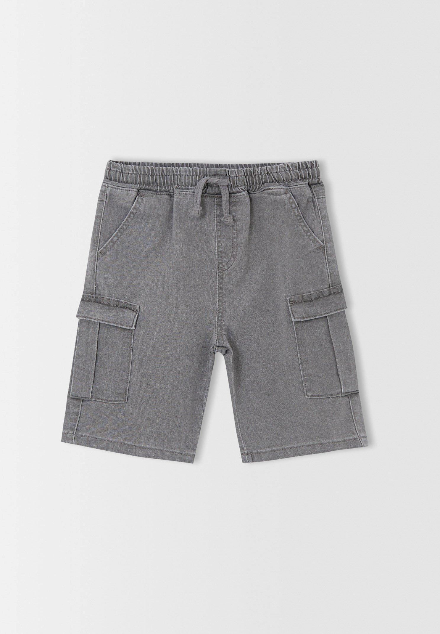 Kinder CARGO FIT - Jeans Shorts