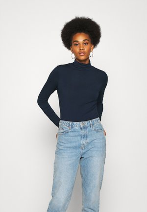 NUBOWIE ROLLNECK - Long sleeved top - dark sapphire