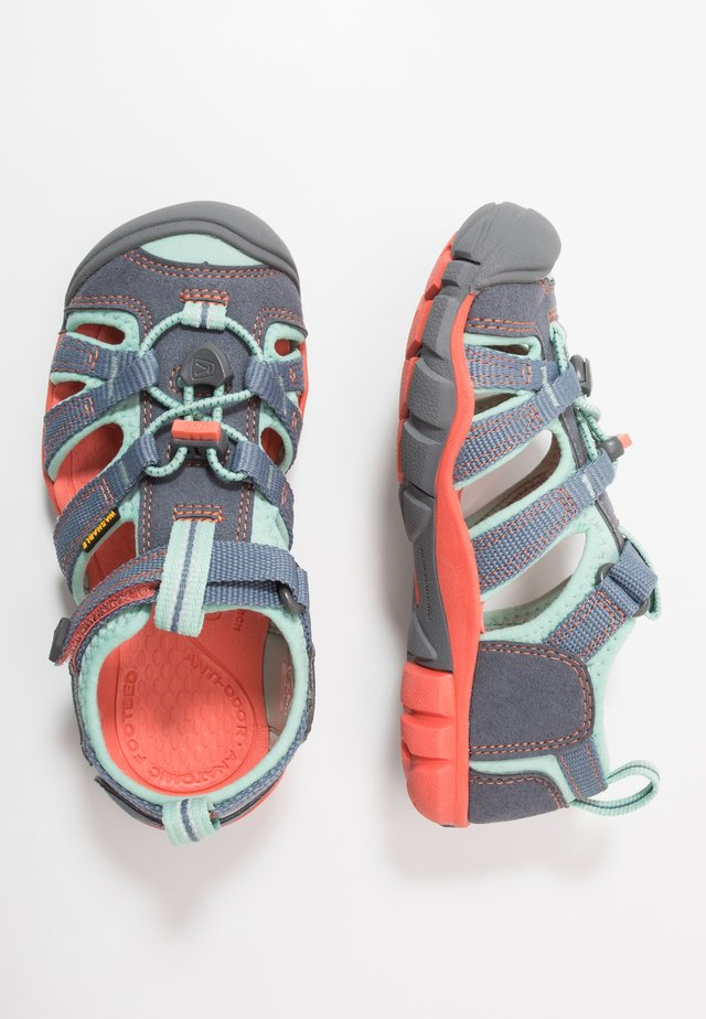 SEACAMP II CNX - Walking sandals - flint stone/ocean wave