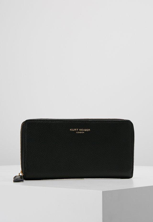 ZIP AROUND WALLET - Wallet - black