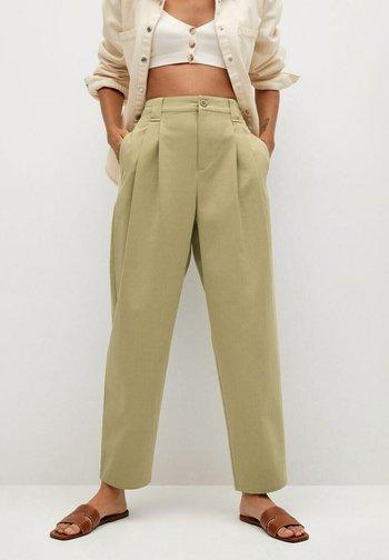 MINT - Spodnie materiałowe - sand