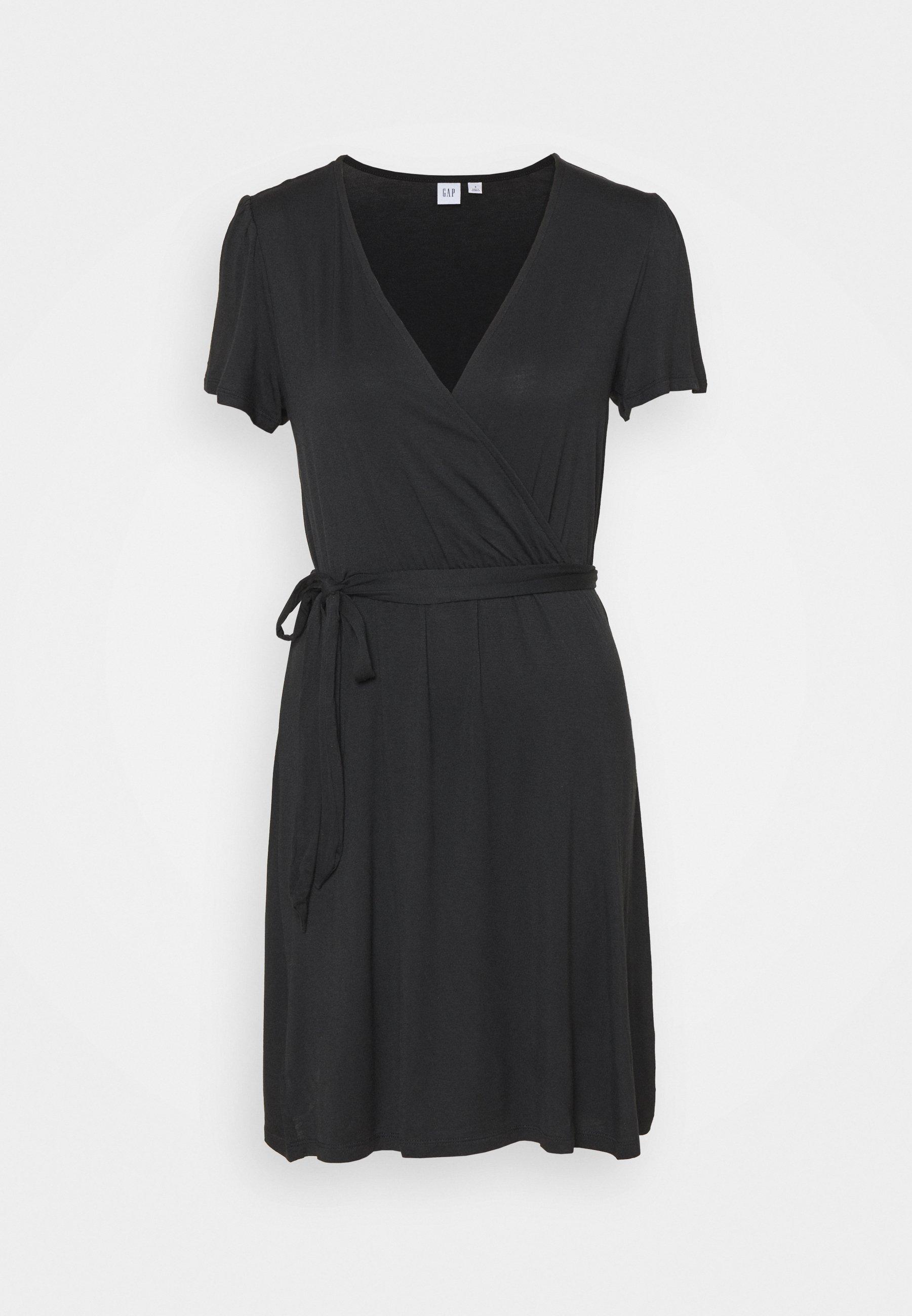 Women WRAP DRESS - Jersey dress