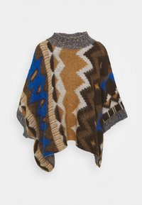 Free People - TRAIL PONCHO - Kapper - timber combo - 4
