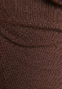 Bershka - Shift dress - brown - 4