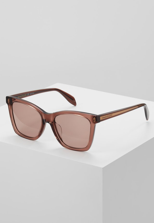 Sonnenbrille - brown/pink