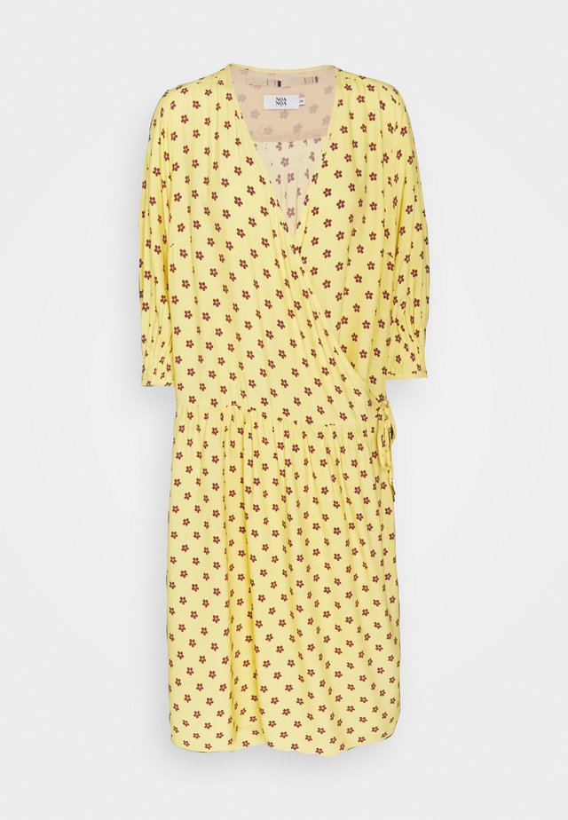 LINEAR  - Day dress - print yellow