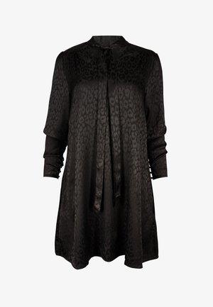 LEOPARD  - Day dress - black