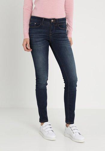 ALEXA - Jeans Skinny Fit - dark stone wash denim blue