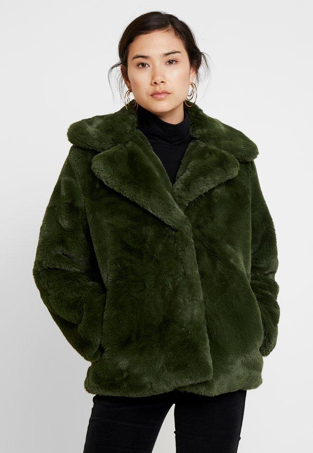 GLENN BONTJAS KORT - Winter jacket - dark olive