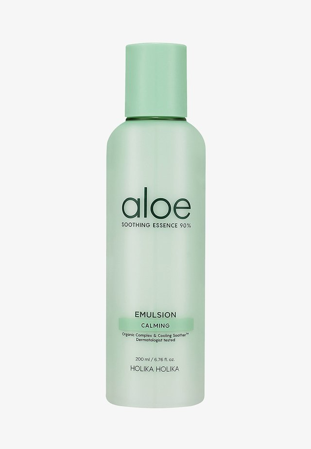 ALOE SOOTHING ESSENCE 90% EMULSION  - Face cream - -