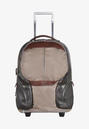ROLLEN KABINENTROLLEY - Wheeled suitcase - brown