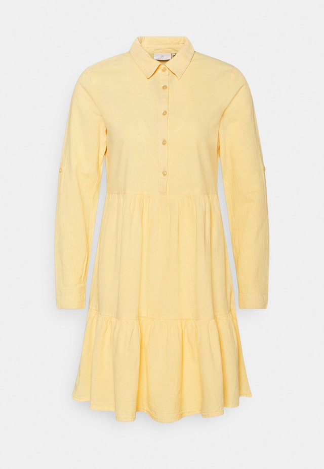 NAYA DRESS - Shirt dress - golden haze