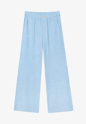 RUSTIKALE - Spodnie materiałowe - light blue