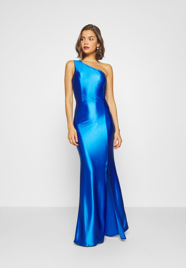ONE SHOULDER MAXI DRESS - Abito da sera - electric blue