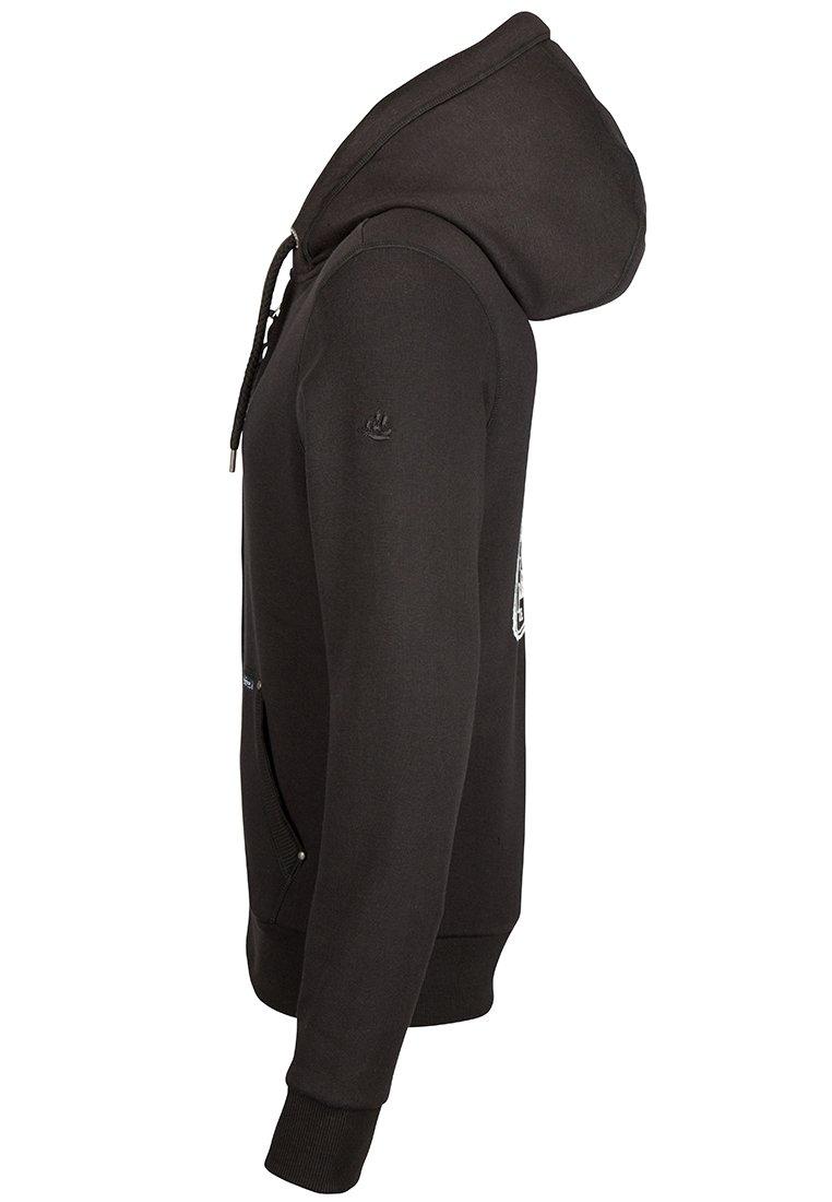 DreiMaster veste en sweat zippée - black