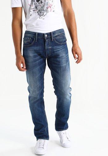 NEWBILL - Straight leg jeans - blue denim
