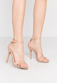 Glamorous - Sandaler med høye hæler - beige - 0