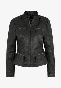 7eleven - KATERINA - Leather jacket - black - 4