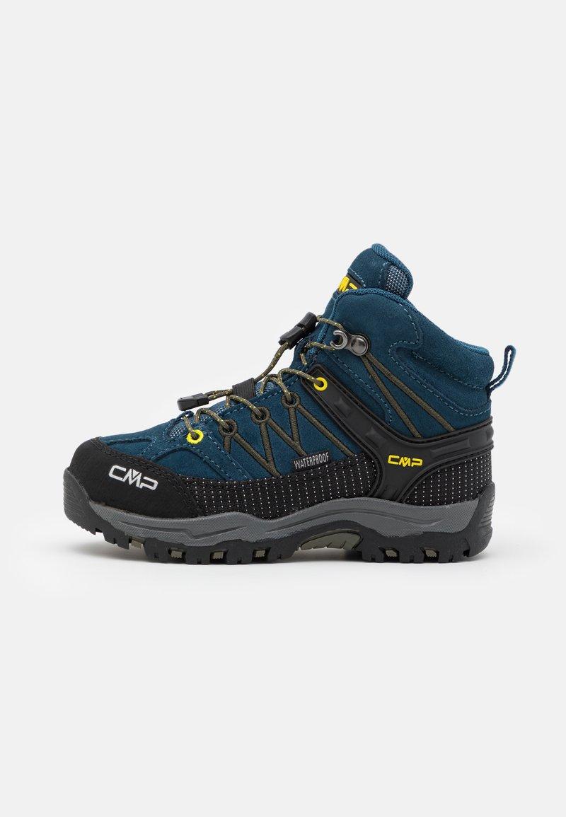 CMP - KIDS RIGEL MID SHOE WP UNISEX - Obuwie hikingowe - blue ink/yellow