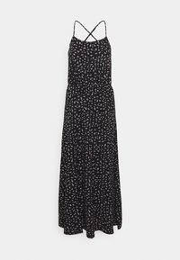 Maxi dress - black/purple