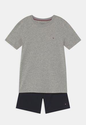 SET - Pyjama set - medium grey/desert sky