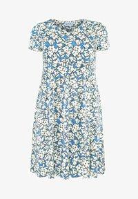 Live Unlimited London - Jersey dress - blue - 1