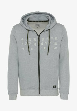 Zip-up hoodie - sky light