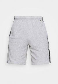 Lacoste Sport - SHORT  - Sports shorts - heidekraut grau/weiß/schwarz - 4
