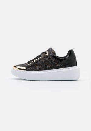 BRANDYN - Sneakers laag - brown/ocra