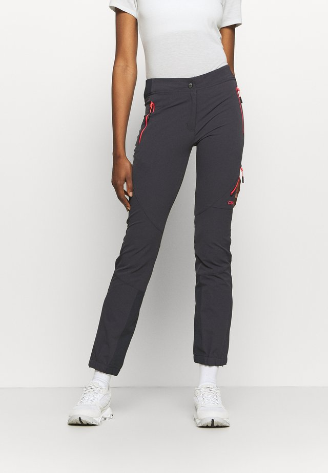 WOMAN PANT - Bukse - antracite