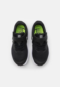 Nike Performance - STAR RUNNER 2 UNISEX - Zapatillas de running neutras - black/white/volt - 3