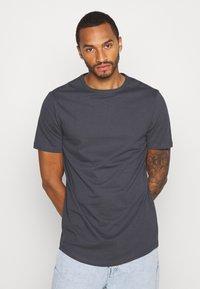 River Island - 5 PACK - Basic T-shirt - pink/white/grey/dark grey/black - 3