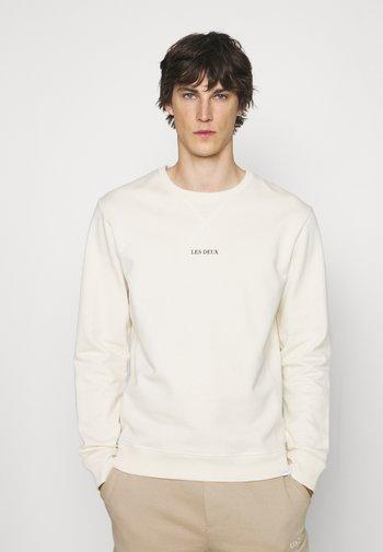 LENS - Sweatshirt - ivory/black