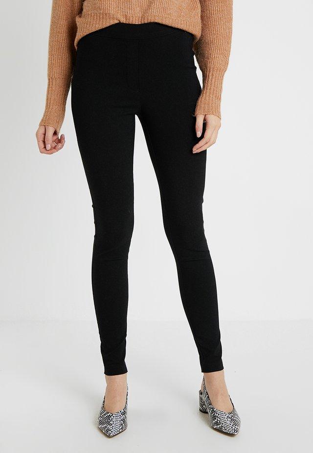 MOCK FLY BENG - Pantalon classique - black