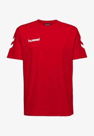 HMLGO - Print T-shirt - true red