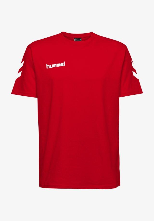 HMLGO - T-shirt print - true red