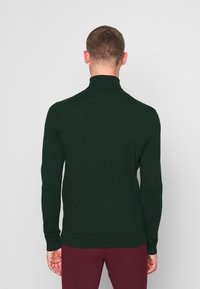 Pier One - 2 PACK - Jumper - black/dark green - 3