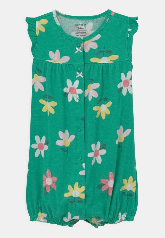 FLORAL - Tuta jumpsuit - green