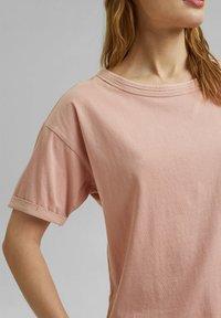 Esprit - Basic T-shirt - nude - 4