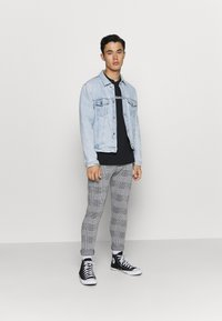 Denim Project - PONTE PANT - Trousers - grey - 1