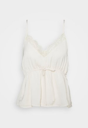 SOLID BABYDOLL CAMI - Top - cream