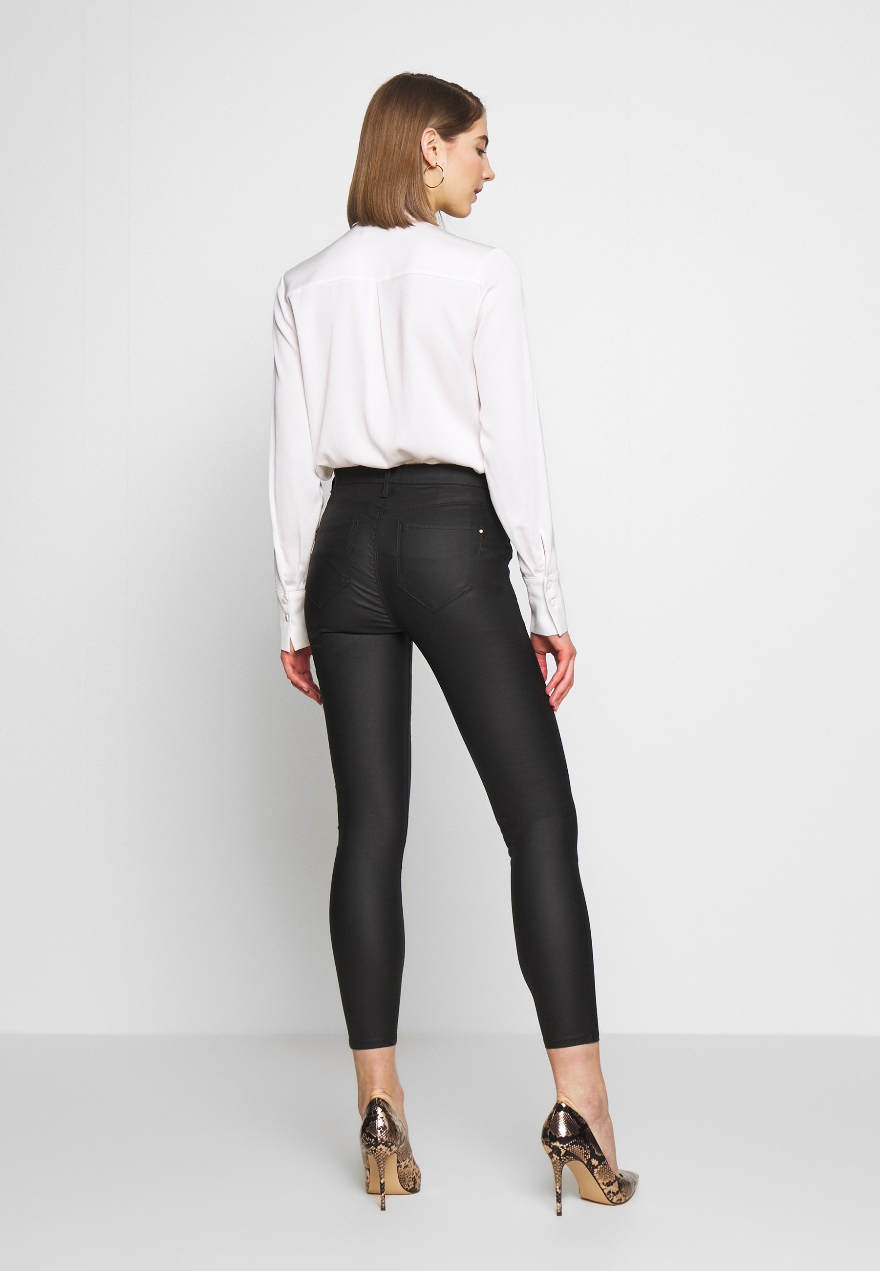 River Island MOLLY - Jeans Skinny - black - Jeans Femme OOSyQ