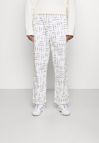HUF - WIRE BOYD PANT - Trousers - natural - 0