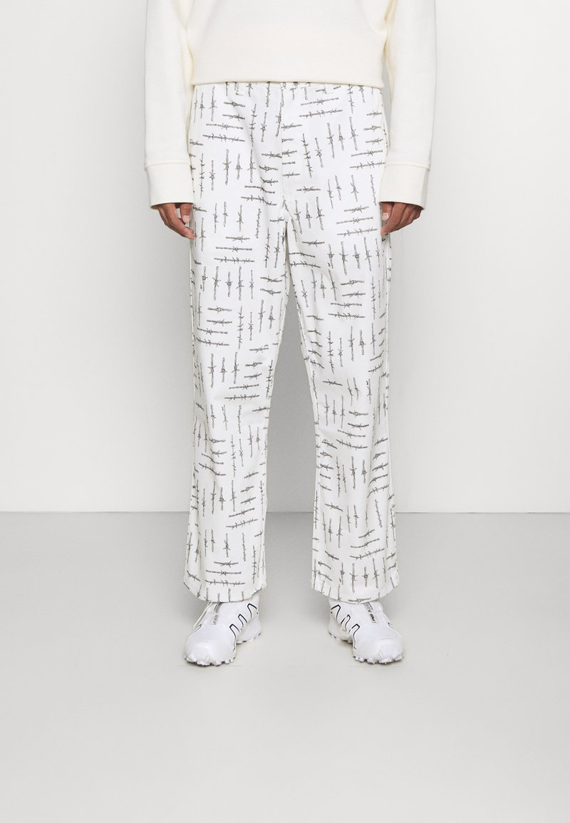 HUF - WIRE BOYD PANT - Trousers - natural