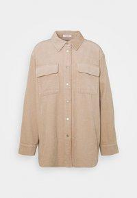 Opus - FROKUS - Summer jacket - macadamia - 0