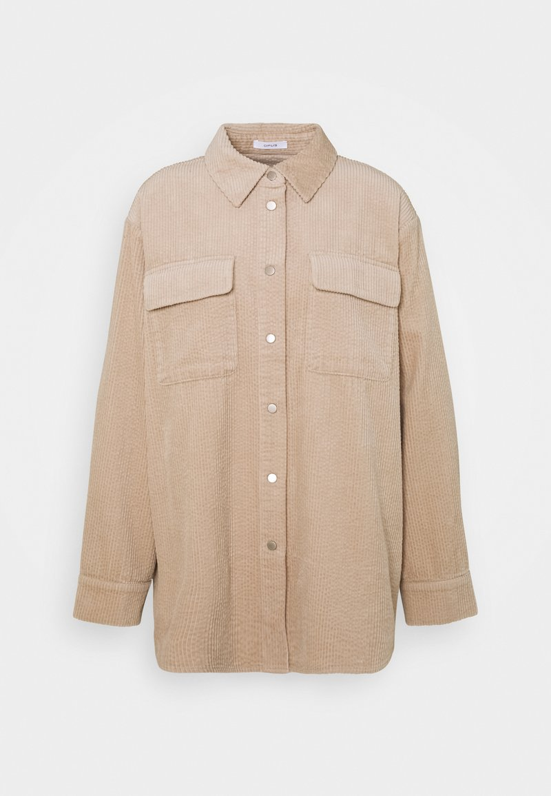 Opus - FROKUS - Summer jacket - macadamia