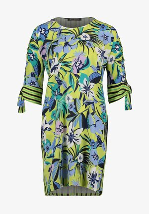 BLUSENKLEID KURZARM - Day dress - green/blue