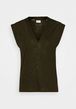 BOXY SHAPED SPECIAL - Basic T-shirt - green