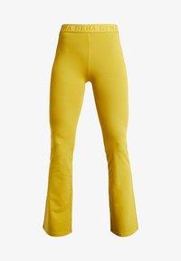 Deha - PANTA JAZZ - Pantalon de survêtement - golden lime - 3