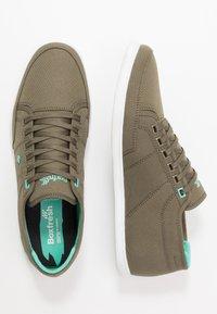 Boxfresh - SPARKO - Sneakers laag - khaki/turquoise - 1